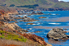 Μεγάλη ακτή Καλιφόρνια Sur Στοκ Εικόνες