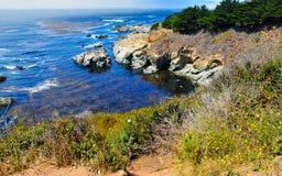 Μεγάλη ακτή Καλιφόρνια Sur Στοκ Φωτογραφία