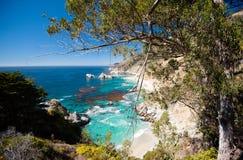 Μεγάλη ακτή Sur - Καλιφόρνιας Στοκ Φωτογραφία