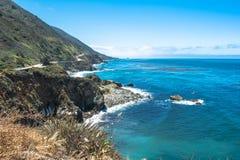 Μεγάλη ακτή Sur, Καλιφόρνια Στοκ Εικόνα