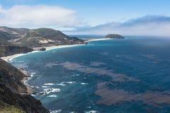 Μεγάλη ακτή Sur, Καλιφόρνια Στοκ φωτογραφία με δικαίωμα ελεύθερης χρήσης