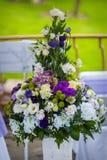 Μεγάλη ανθοδέσμη της σύνθεσης λουλουδιών Στοκ εικόνες με δικαίωμα ελεύθερης χρήσης