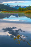 Μεγάλη αντανάκλαση Teton στην ανατολή Στοκ εικόνες με δικαίωμα ελεύθερης χρήσης