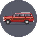 Μεγάλη απεικόνιση Wagoneer τζιπ Στοκ Φωτογραφίες
