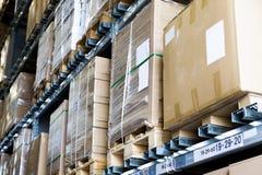 Μεγάλη αποθήκη εμπορευμάτων επίπλων Στοκ Εικόνες