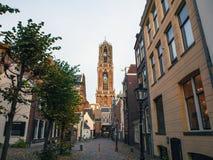 Μεγάλη αρχαία γοτθική εκκλησία ευρωπαϊκός παραδοσιακό&sig Ουτρέχτη - Ολλανδία Στοκ φωτογραφία με δικαίωμα ελεύθερης χρήσης