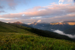 μεγάλη βουνών καπνώδης ανατολή Tennessee ΗΠΑ πάρκων βουνών εθνική Στοκ εικόνα με δικαίωμα ελεύθερης χρήσης