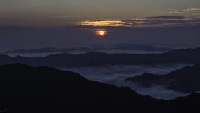 μεγάλη βουνών καπνώδης ανατολή Tennessee ΗΠΑ πάρκων βουνών εθνική Στοκ Εικόνες