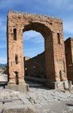 μεγάλη βροχή της Πομπηίας palestra της Ιταλίας Στοκ Φωτογραφίες