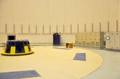 Μεγάλη εγκατάσταση στροβίλων κτηρίου υδροηλεκτρική Στοκ εικόνα με δικαίωμα ελεύθερης χρήσης