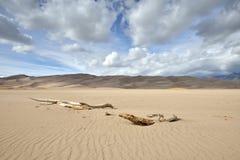 μεγάλη εθνική άμμος πάρκων αμμόλοφων του Κολοράντο Στοκ Εικόνες