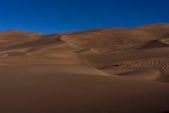μεγάλη εθνική άμμος πάρκων αμμόλοφων του Κολοράντο Στοκ φωτογραφία με δικαίωμα ελεύθερης χρήσης