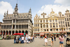 μεγάλη θέση των Βρυξελλών Στοκ φωτογραφία με δικαίωμα ελεύθερης χρήσης