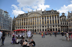 μεγάλη θέση των Βρυξελλών Στοκ Εικόνα
