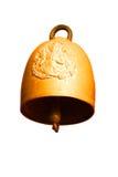 Μεγάλη θρησκεία κουδουνιών χρυσή Στοκ Εικόνες