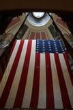Μεγάλη ιστορική αμερικανική σημαία Στοκ εικόνες με δικαίωμα ελεύθερης χρήσης
