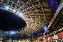 Μεγάλη κατασκευή αθλητικών σταδίων στοκ φωτογραφίες