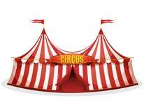μεγάλη κορυφή σκηνών τσίρκ&ome απεικόνιση αποθεμάτων