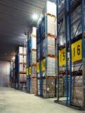 Μεγάλη κρύα αποθήκη εμπορευμάτων Στοκ Εικόνα