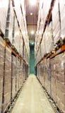 Μεγάλη κρύα αποθήκη εμπορευμάτων Στοκ Φωτογραφία
