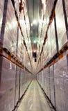 Μεγάλη κρύα αποθήκη εμπορευμάτων Στοκ φωτογραφία με δικαίωμα ελεύθερης χρήσης