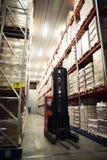 Μεγάλη κρύα αποθήκη εμπορευμάτων Στοκ εικόνα με δικαίωμα ελεύθερης χρήσης