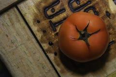 Μεγάλη κόκκινη ντομάτα Στοκ εικόνες με δικαίωμα ελεύθερης χρήσης