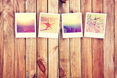 Μεγάλη μνήμη από τις διακοπές θαλασσίως Στοκ Φωτογραφίες