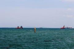 Μεγάλη μπλε θάλασσα Στοκ Εικόνες