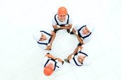 Μεγάλη ομάδα εργαζομένων στοκ φωτογραφία με δικαίωμα ελεύθερης χρήσης