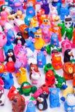 Μεγάλη ομάδα παιχνιδιών αργίλου Στοκ Φωτογραφίες
