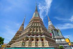 Μεγάλη παγόδα στο ναό στην Ταϊλάνδη Στοκ φωτογραφία με δικαίωμα ελεύθερης χρήσης