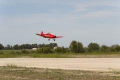 Μεγάλη πρότυπη προσγείωση pawnee αυλητών Bellota αεριωθούμενη 2013 Στοκ Εικόνες