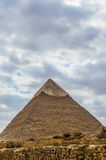 μεγάλη πυραμίδα Στοκ Εικόνα