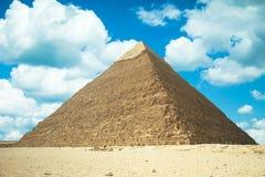μεγάλη πυραμίδα giza της Αιγύπ& Στοκ φωτογραφία με δικαίωμα ελεύθερης χρήσης