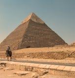 Μεγάλη πυραμίδα Giza Στοκ Εικόνα