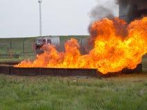 Μεγάλη πυρκαγιά δίσκων στοκ φωτογραφία με δικαίωμα ελεύθερης χρήσης