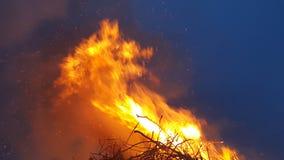 Μεγάλη πυρκαγιά Στοκ Φωτογραφία