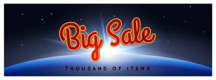 μεγάλη πώληση αφισών Μαύρη ανασκόπηση Παρασκευής Στοκ Φωτογραφία