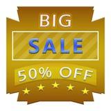 μεγάλη πώληση αφισών Στοκ Εικόνα