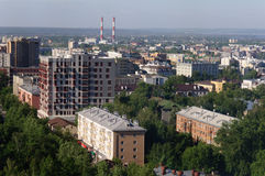Μεγάλη ρωσική πόλη Στοκ Εικόνες