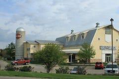 Μεγάλη σιταποθήκη Harley Davidson, Des Moines, Αϊόβα Στοκ Εικόνες