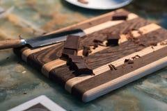 Μεγάλη σοκολάτα Στοκ φωτογραφία με δικαίωμα ελεύθερης χρήσης