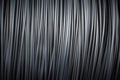 Μεγάλη σπείρα του καλωδίου αργιλίου στοκ εικόνες με δικαίωμα ελεύθερης χρήσης