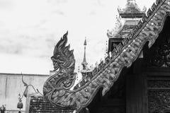 Μεγάλη στέγη ναών Naga Στοκ Φωτογραφίες
