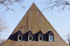 Μεγάλη στέγη πλακών Στοκ Φωτογραφίες