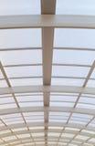 Μεγάλη στέγη χάλυβα και γυαλιού Στοκ εικόνα με δικαίωμα ελεύθερης χρήσης