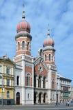 Μεγάλη συναγωγή σε Plzen Στοκ εικόνα με δικαίωμα ελεύθερης χρήσης