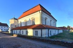 Μεγάλη συναγωγή σε Tykocin Στοκ εικόνα με δικαίωμα ελεύθερης χρήσης