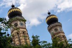 Μεγάλη συναγωγή στη Βουδαπέστη, το εβραϊκό δέντρο μουσείων ολοκαυτώματος και μια ιστορία importante Στοκ φωτογραφία με δικαίωμα ελεύθερης χρήσης